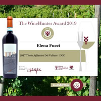 The WineHunter Award 2019: 2017 Titolo Aglianico del Vulture
